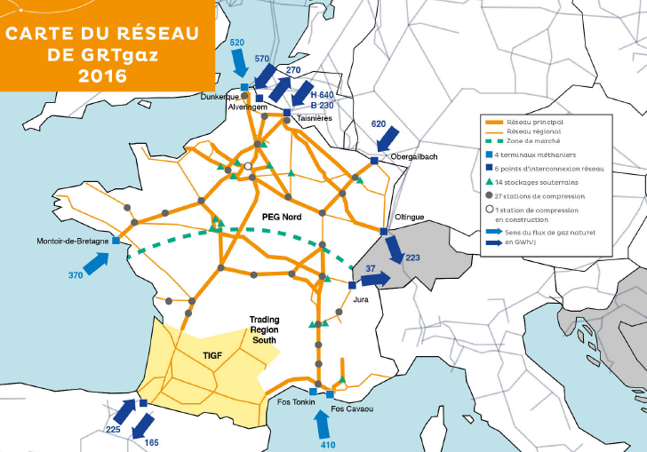 French Gas Grid to Take over Elengy