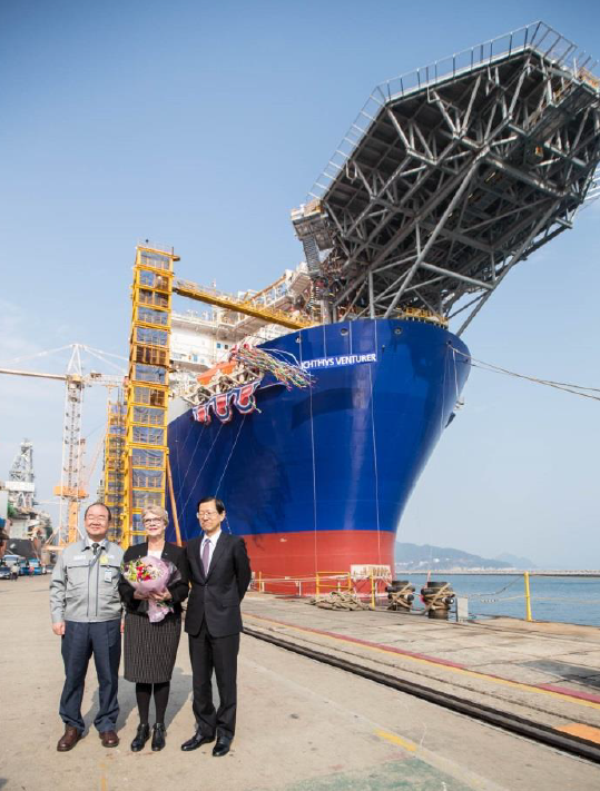 Ichthys FPSO and CPF Named