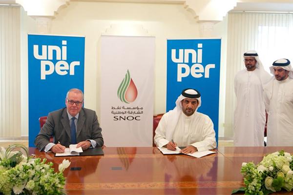 Sharjah National Oil Corporation, Uniper Sign LNG Deal