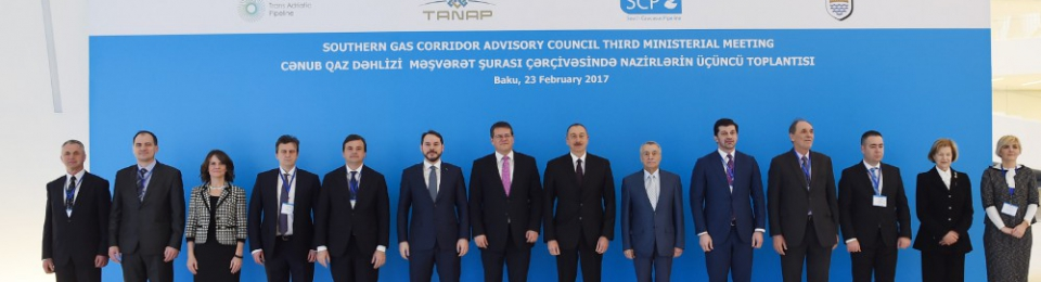 SGC advisory council third ministerial meeting in Baku (Credit Azertag)