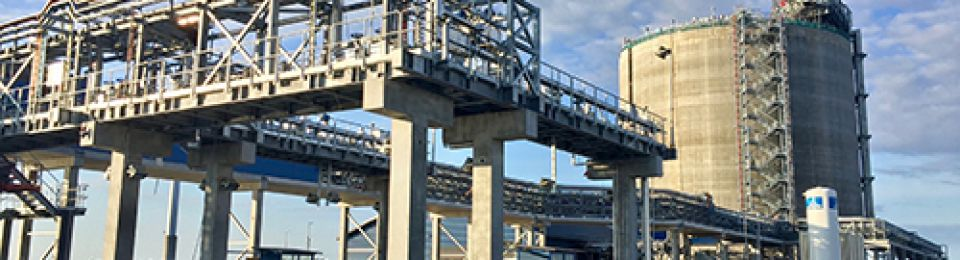 Finnish LNG Terminal 'Mechanically Complete'