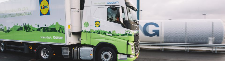 Lidl Uses 'Bio-LNG' in Finland