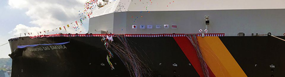 Mitsubishi Shipbuilding Names New LNG Carrier