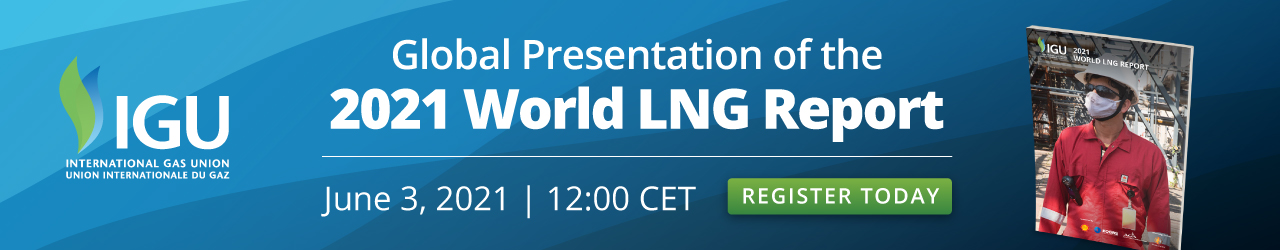 World LNG Report 2021 Webinar June 3