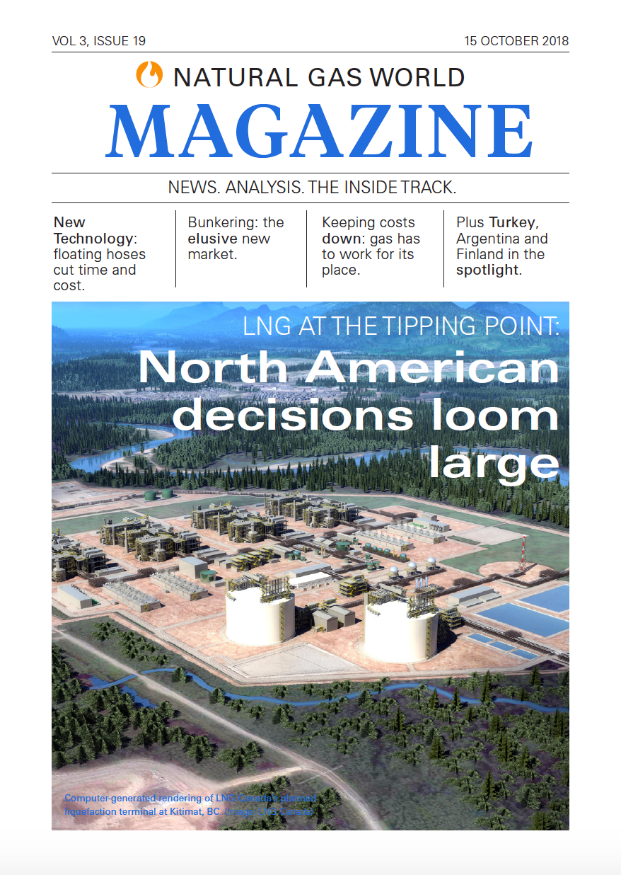[NGW Magazine] New Issue Available - LNG At The Tipping Point: North American decisions loom large