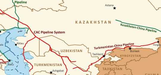 Turkmen Gas Exports to China Up, Value Down