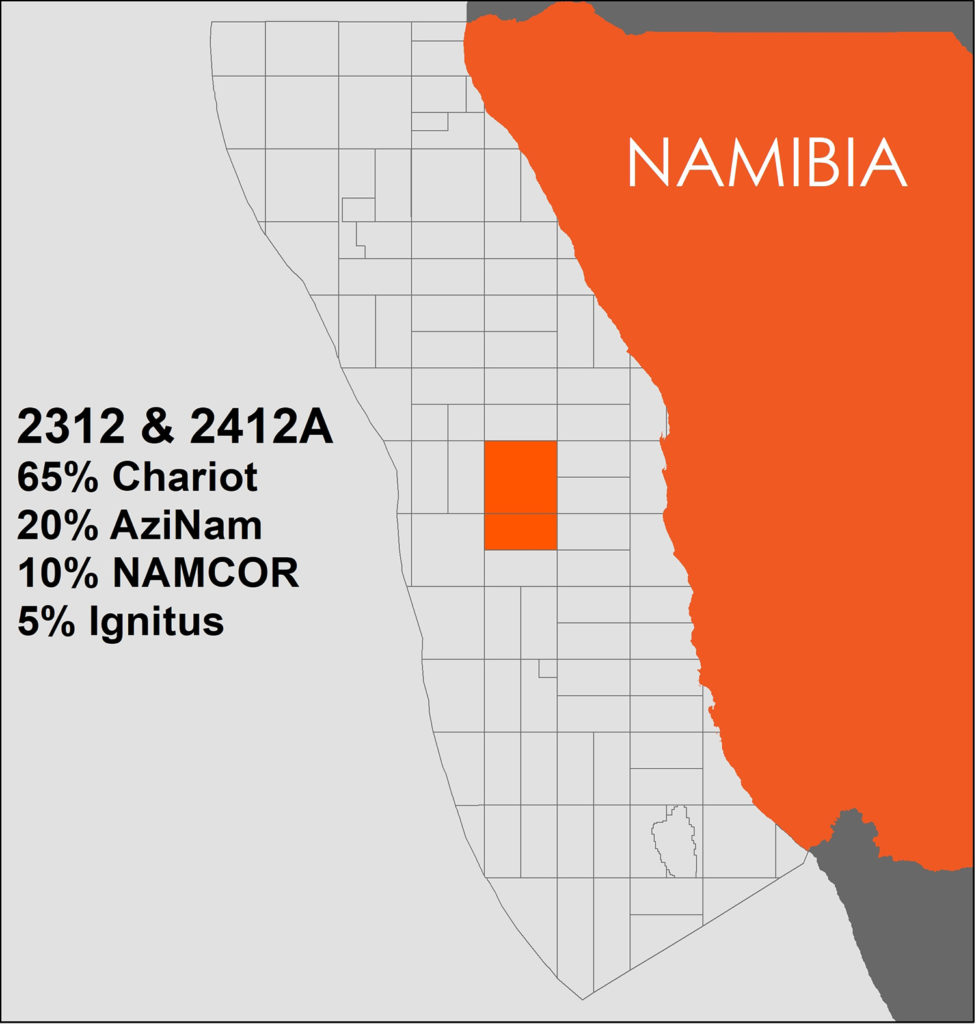 Chariot Scales Back Namibia Exposure
