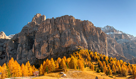 Figure 2: The Zohr deposit is as large as the Sella massif in the Italian Dolomites