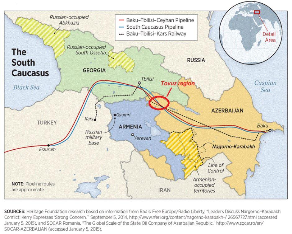 Clashes on Azerbaijan-Armenia Border Threaten Regional Transport and Energy Routes [GGP]