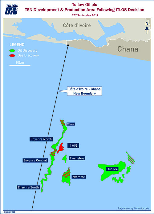 Tullow, Kosmos Cheered by ITLOS Maritime Ruling