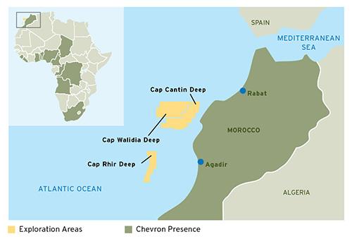Chevron, QP Renew Ties with Morocco