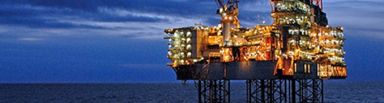 BP's Shah Deniz platform, the starting-point of the southern gas corridor (Credit: BP)