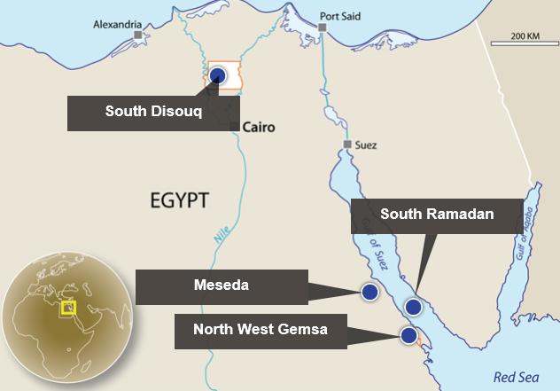 Egypt Explorer Talks Up South Disouq - Map of egypt 2017